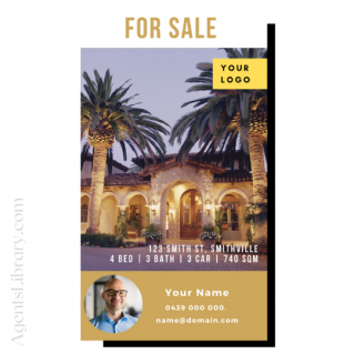 """For Sale / Sold / For Rent  """"Social stories"""" Template 19"""