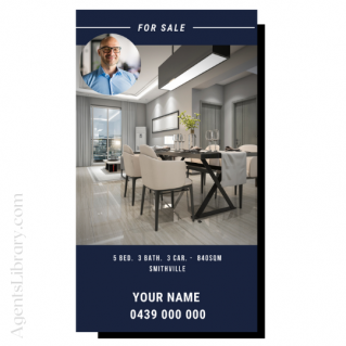 """For Sale / Sold / For Rent  """"Social stories"""" Template 7"""