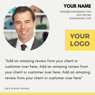 Reviews Social Post – Style 42