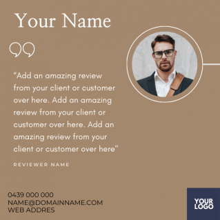 Reviews Social Post – Style 47