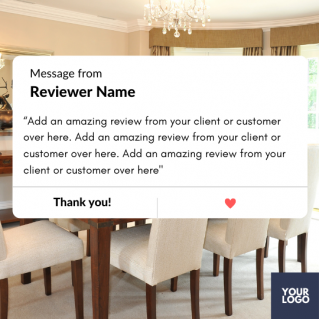 Reviews Social Post – Style 48