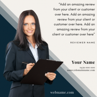 Reviews Social Post – Style 53
