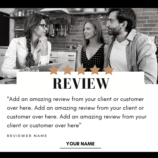 Reviews Social Post – Style 59
